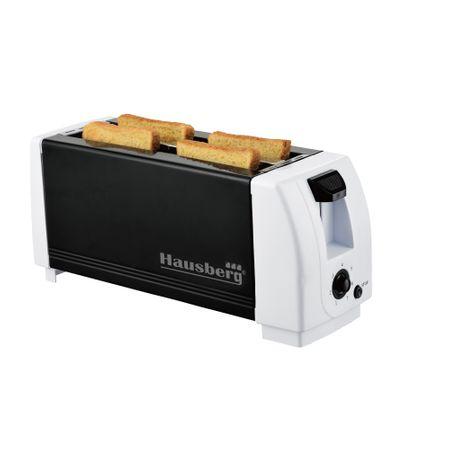Prajitor de paine Hausberg de la Top-Shop cu putere 1300w, pentru 4 felii: Review