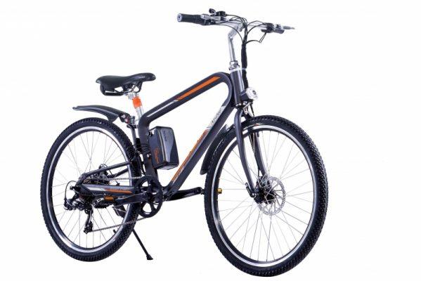 Bicicleta electrica Airwheel R8P Black, Viteza max. 20km/h, Putere motor 235W, Baterie LG 214.6Wh/36V L Review si Pareri pertinente